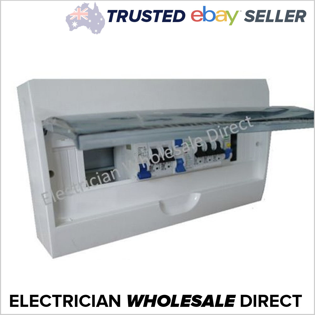 switchboard combination for unit 18 pole surface flush, rcd mcbLoaded Combination Switchboard Enclosure Circuit Breaker Ebay #21