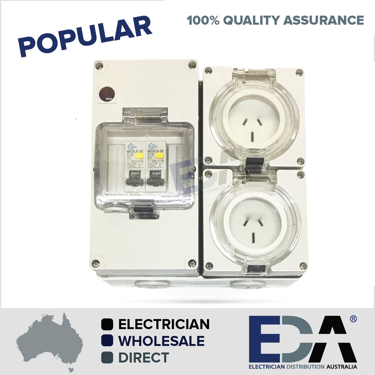 3 Pin 2 X 15 Amp Socket Rcd Combination Outlet 4 Pole Switchboard Rcbo Wiring Diagram 100 Quality Assured Electrical Gear Fully Tested To Australian Standards As 3123 5 Year Warranty All Products