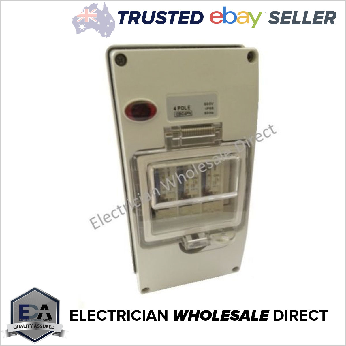 1xdigital Time Switch Clock In A Weatherproof 4 Pole Enclosure Neon Circuit Breaker With Timer Ip66