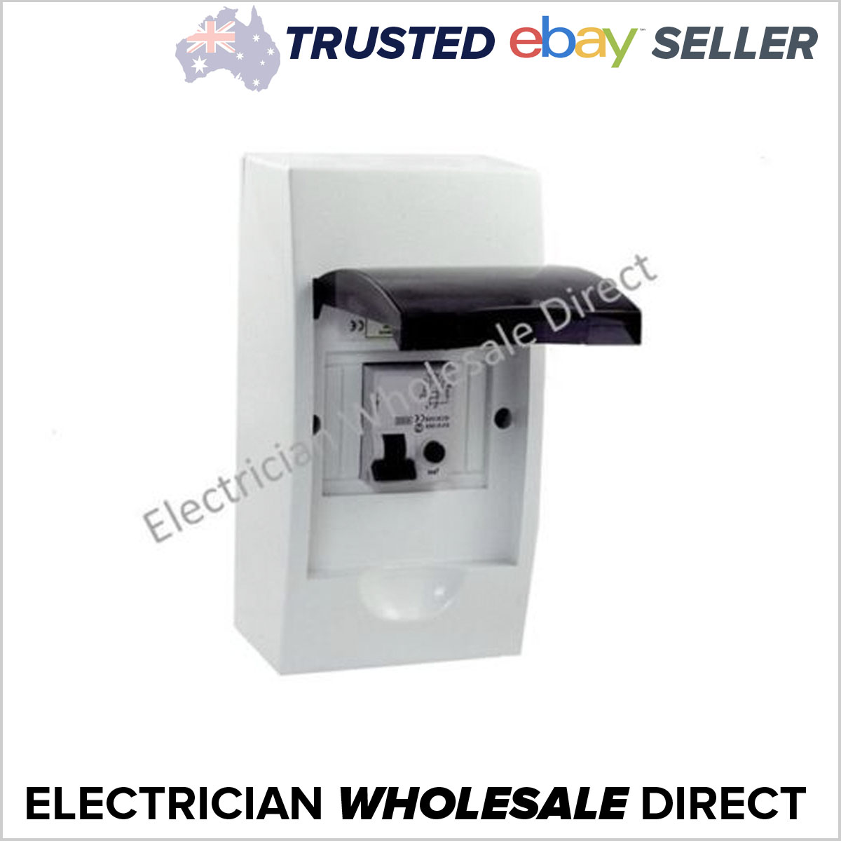 40 amp rcd in a 4 pole way switchboard din rail surface mount rh edaonline com au