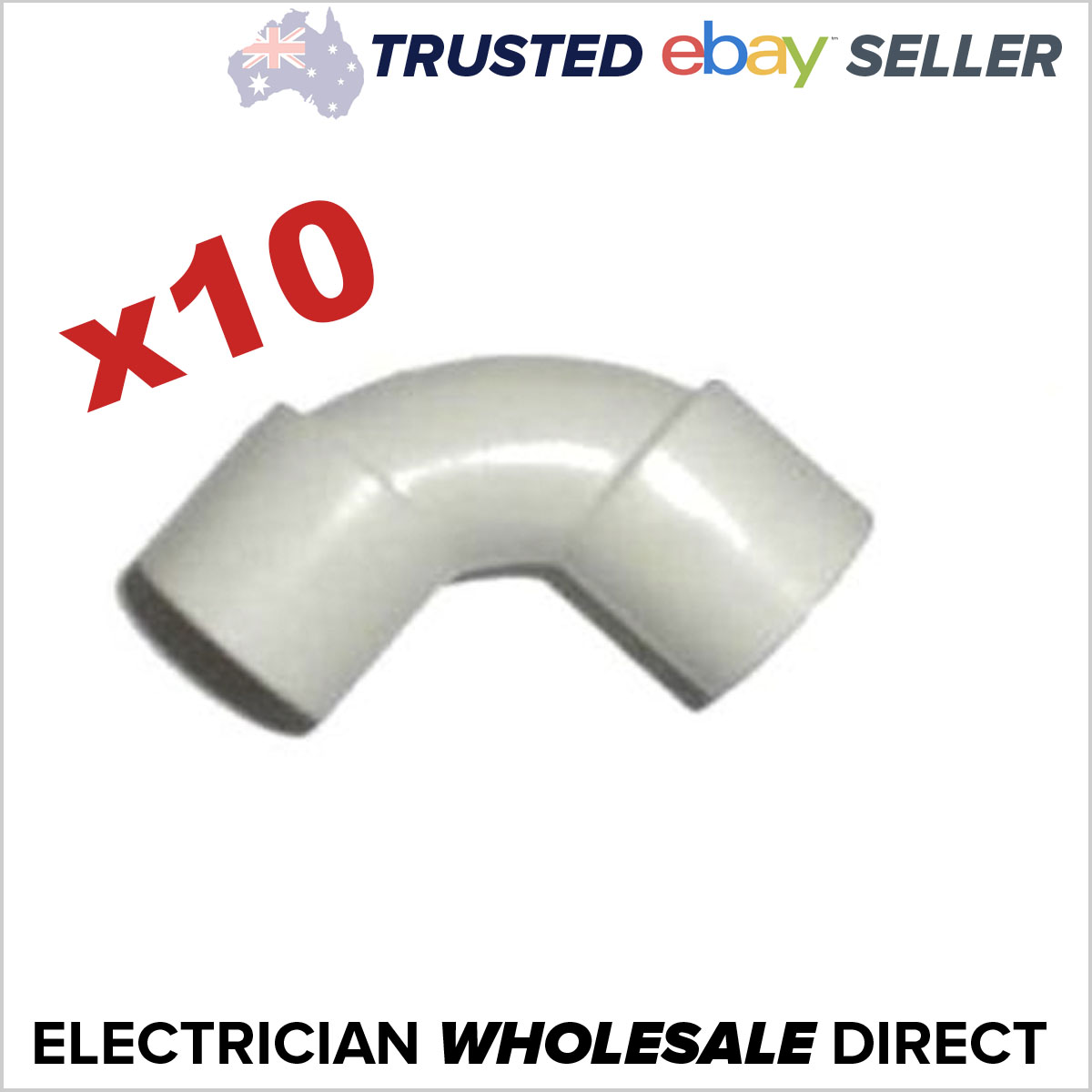 Bulk 10 X 25mm 90 Degree Elbow Bend Electrical Conduit Eda Online Electricwireconduitjpg Fully Tested To Australian