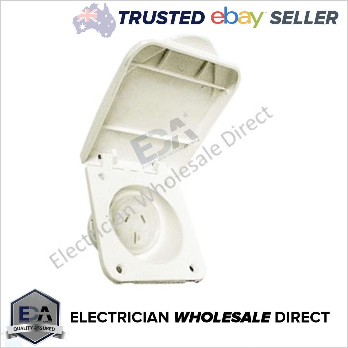15 Amp Power Outlet Caravan Motor Home And Rv 240v Socket Electrical Wiring Standards 100 Quality Assured Gear Fully Tested To Australian As 3123 5 Year Warranty All Products