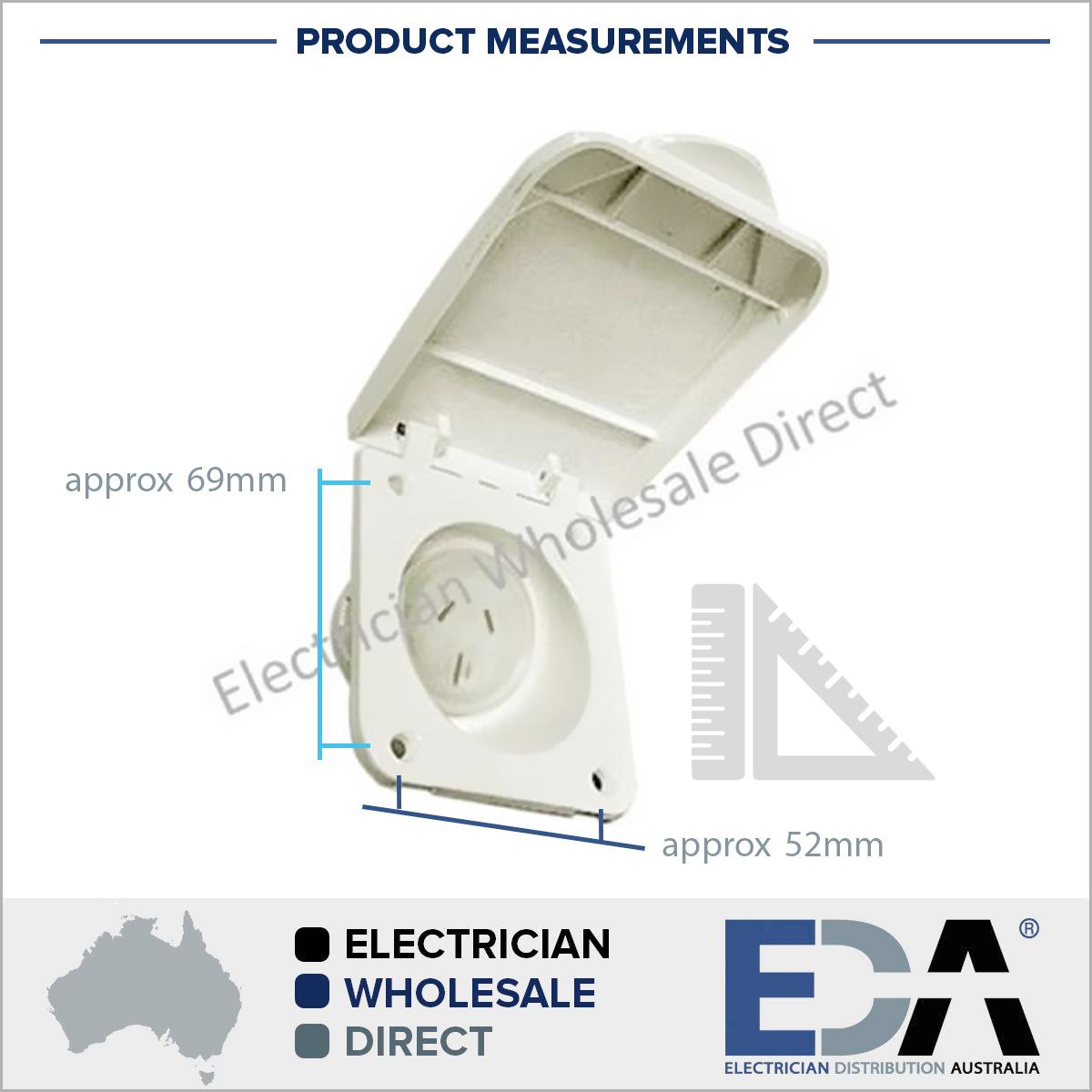 Gfci Wiring Diagram 115v: 15 Amp Power Outlet For Caravan Motor Home And RV 240V