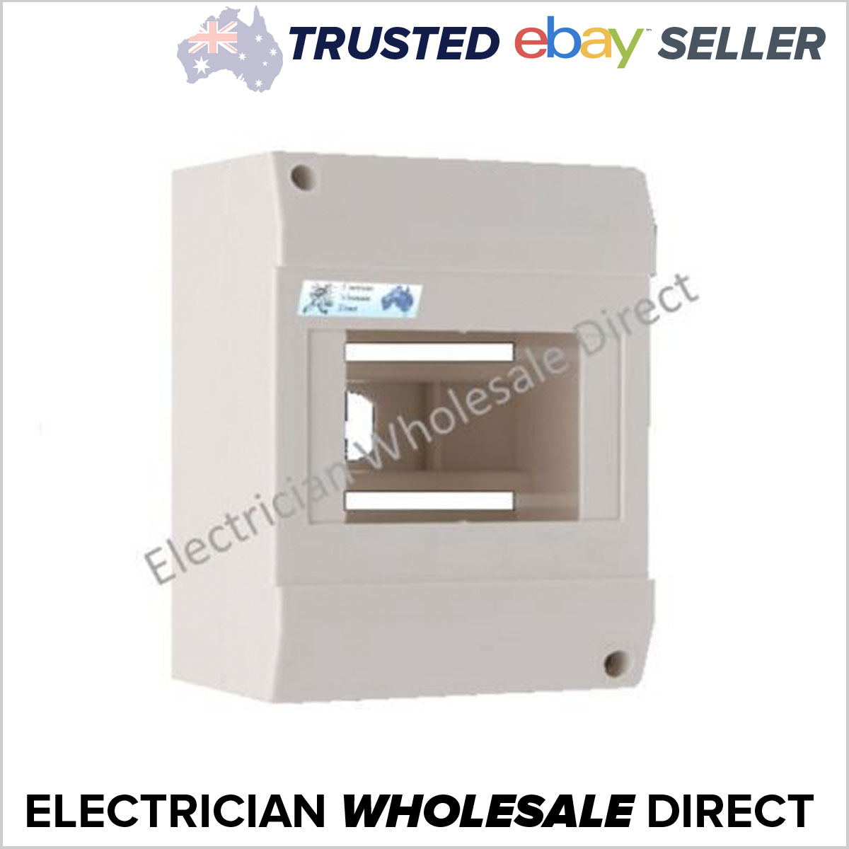 6 pole enclosure for circuit breakers switchboard electrical garageLoaded Combination Switchboard Enclosure Circuit Breaker Ebay #12