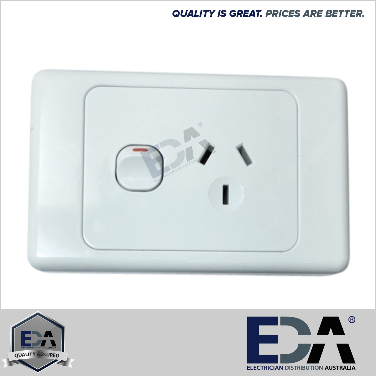Electrical socket switch power point outlet plate gang gpo single 100 quality assured electrical gear fully tested to australian electrical standards as 3123 5 year warranty all products swarovskicordoba Image collections