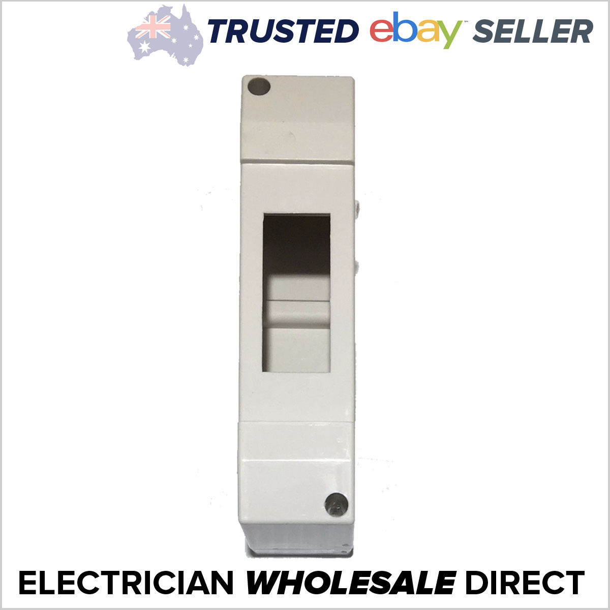 brand new 1 pole enclosure box for circuit breakers switchboardEnclosure Box Surface Board Switchboard Din Rail Circuit Breaker Rcd #7