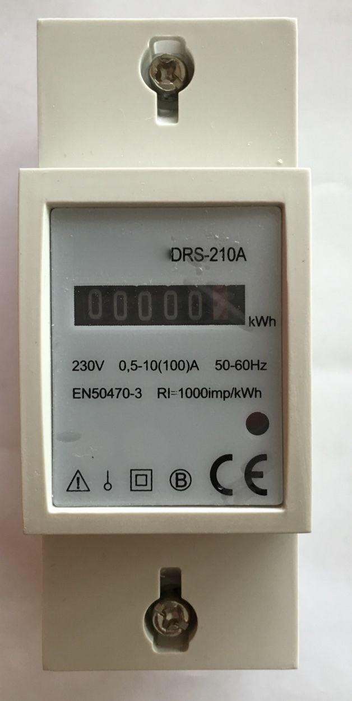 Kilowatt Hour Meter : Kilowatt hour kwh electric check meter digital phase