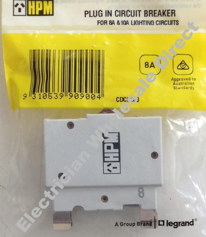 Circuit Breaker - PLUG IN type 8 amp replace old style fuse may NOT ...