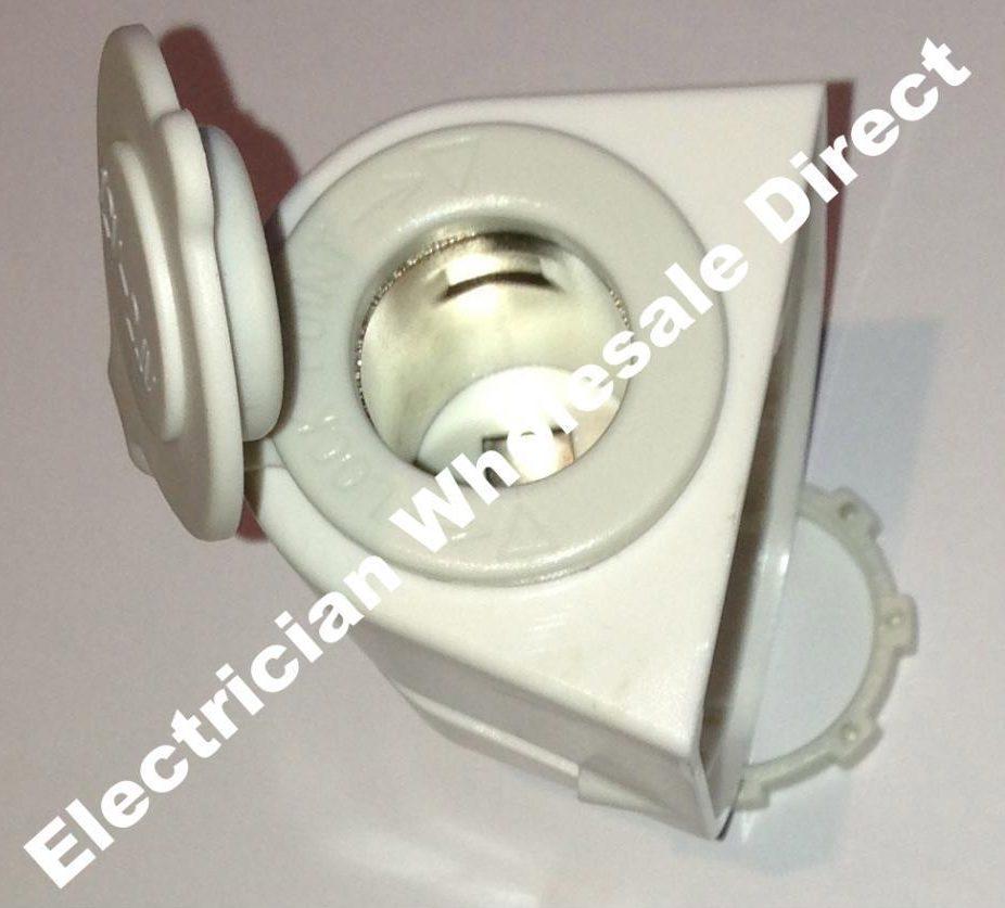Heavy Duty 12 Volt Connectors : Cigarette lighter outlet volt caravan heavy duty