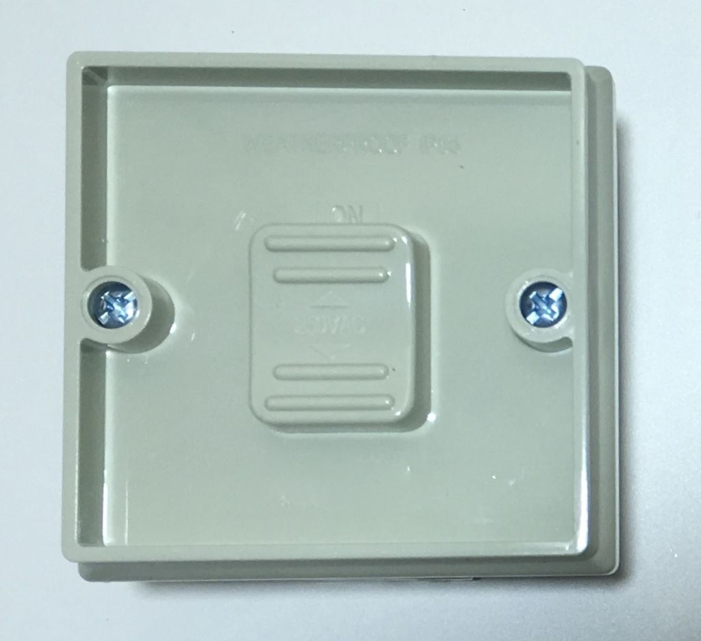 15 Amp Weatherproof Single 1 Gang Switch Ip Rated Outdoor